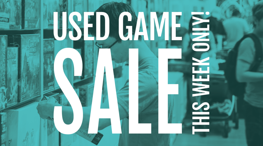 Used Game Sale