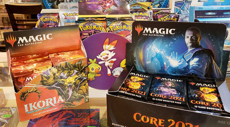 Magic the Gathering and Pokemon sealed new product