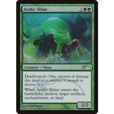 Acidic Slime - Foil FNM 2012