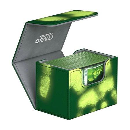 Ultimate Guard - Sidewinder Chromaskin Deckbox Green