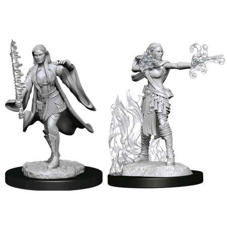 D&D Unpainted Minis - Warlock/Sorcerer (Female)