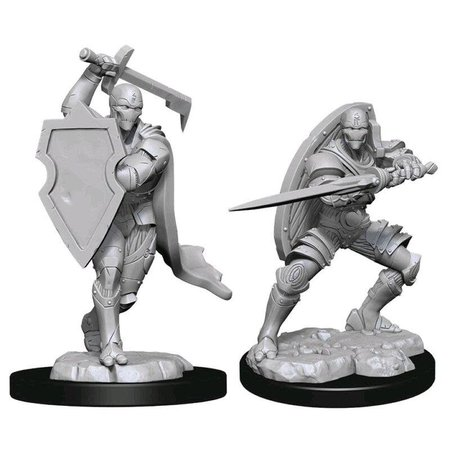 Unpainted Minis - Warforged Fighter (Male)