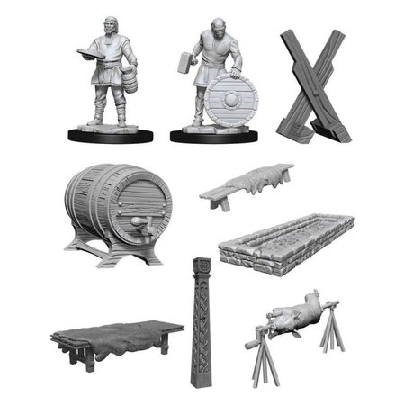 D&D Unpainted Minis - Vikings