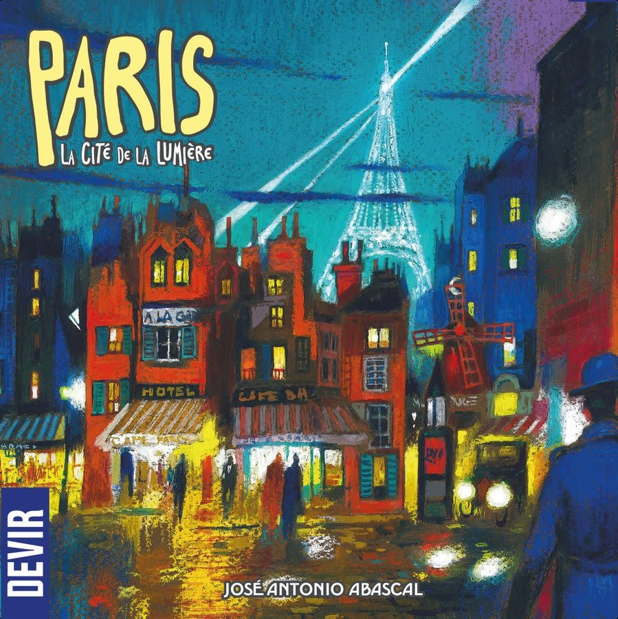 Paris City of Light board game