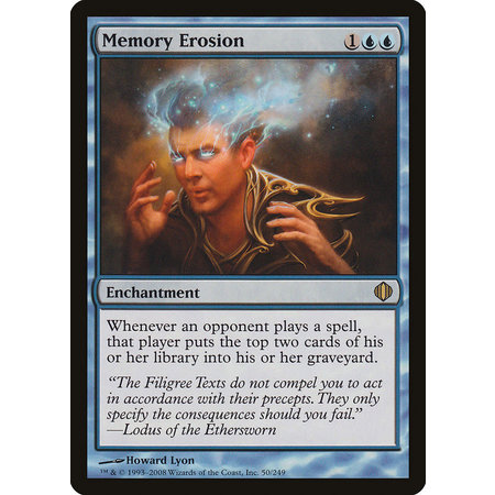 Memory Erosion - Foil