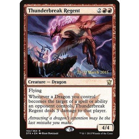 Thunderbreak Regent - Foil - Prerelease Promo