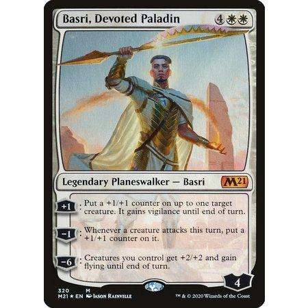 Basri, Devoted Paladin - Foil