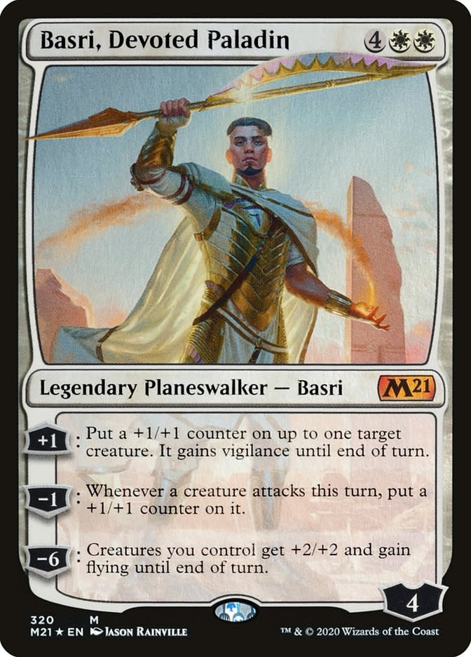 Basri, Devoted Paladin - Foil
