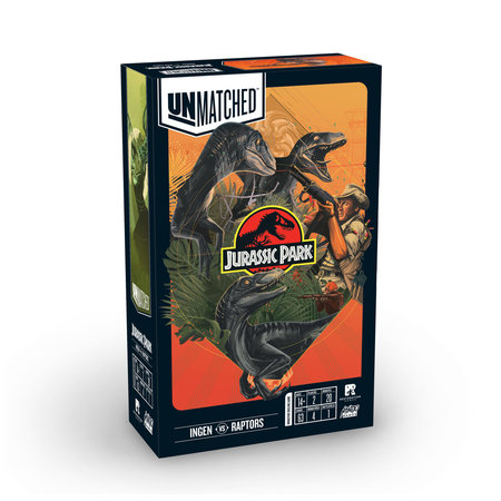Unmatched: Jurassic Park - Ingen vs. Raptors