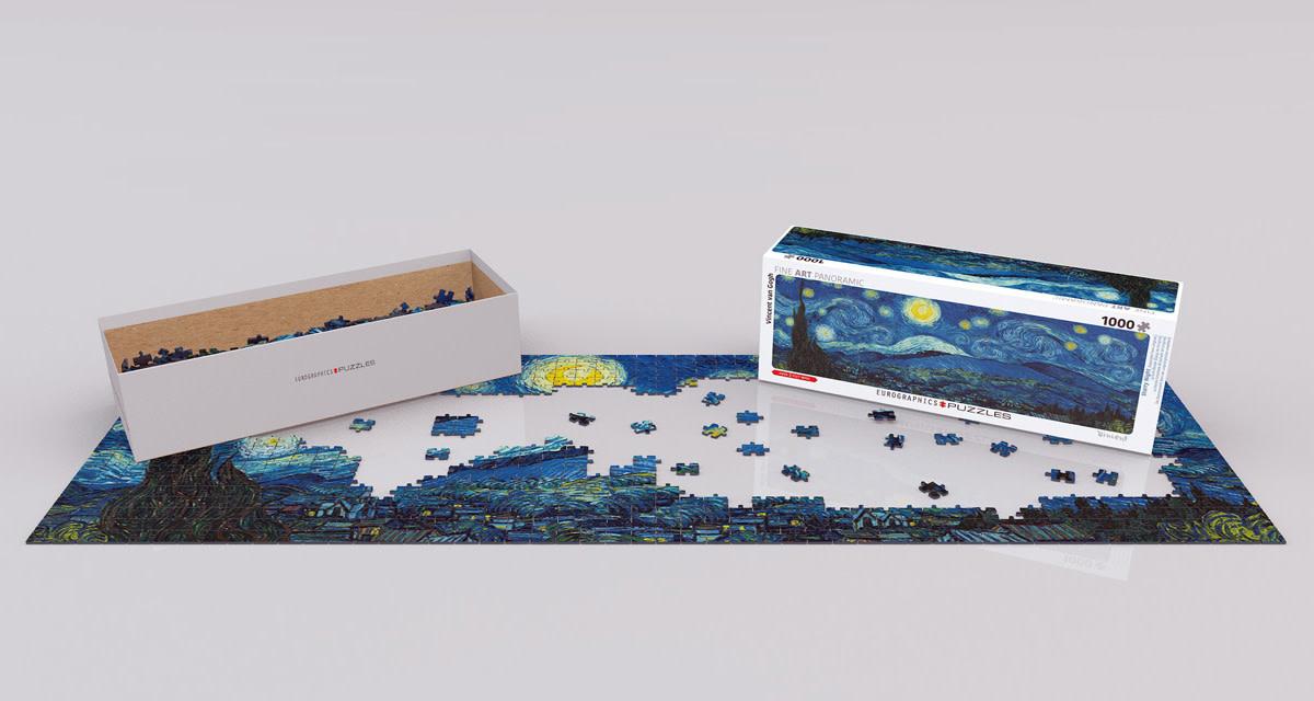 1000 - Starry Night (Van Gogh) - Panorama