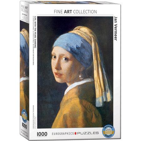1000 - Girl with the Pearl Earring (Jan Vermeer)