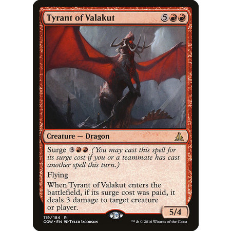 Tyrant of Valakut - Foil
