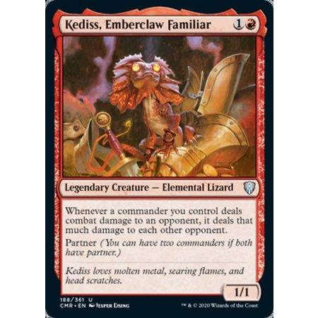 Kediss, Emberclaw Familiar - Foil