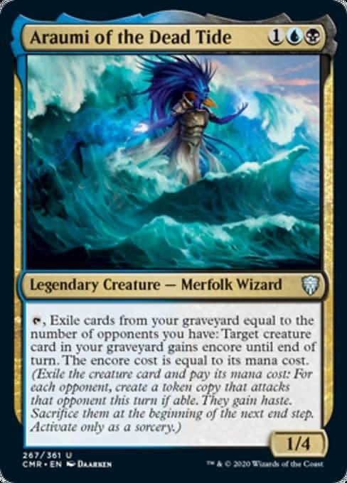Araumi of the Dead Tide - Foil