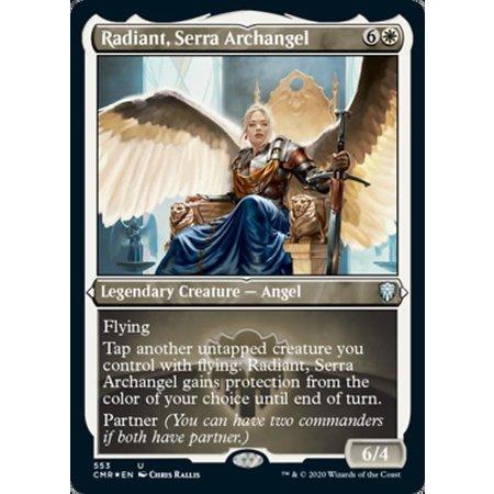 Radiant, Serra Archangel - Foil-Etched
