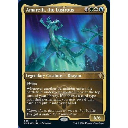 Amareth, the Lustrous - Foil-Etched