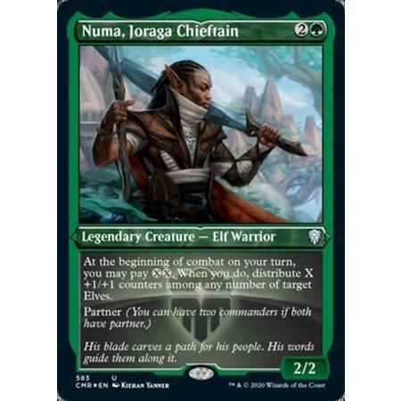 Numa, Joraga Chieftain - Foil-Etched