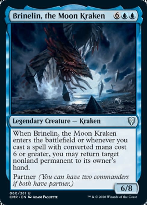 Brinelin, the Moon Kraken - Foil