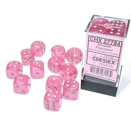 CHX 27784 Borealis Pink w/Silver Luminary D6