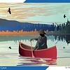 1000 - Lone Canoe (Mark Preston)