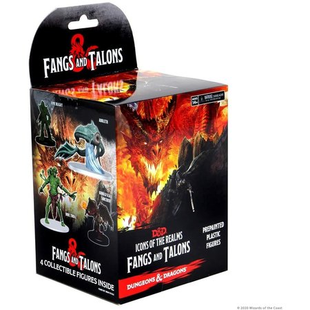 Icons of the Realms: Fangs and Talons - Booster Pack