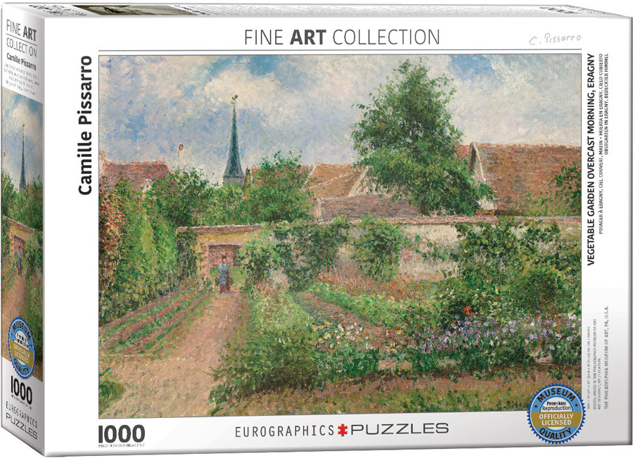1000 - Vegetable Garden (Pissarro)