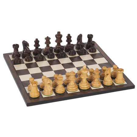 """Chess 12"""" Wood Set with 2&1/2"""" King"""
