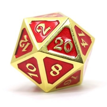 Dire D20 - Mythica Gold/Ruby