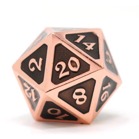 Dire D20 - Mythica Copper/Onyx