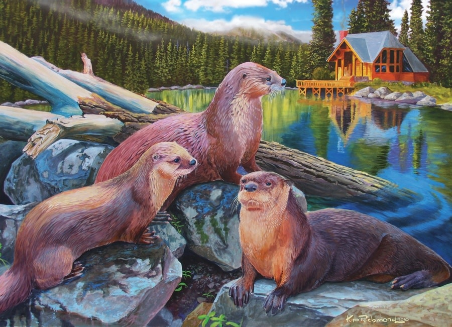 1000 - River Otters