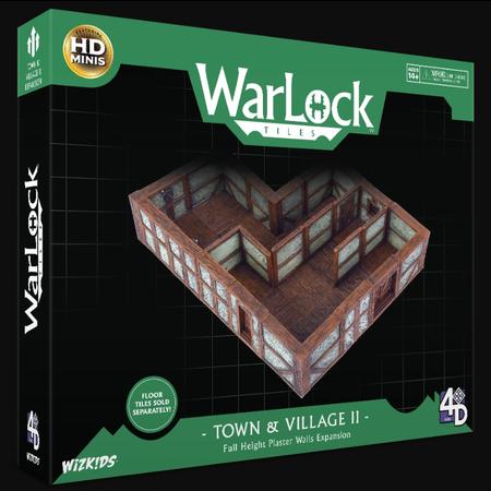 WarLock Tiles: Town & VIllage II - Plaster Walls Expansion