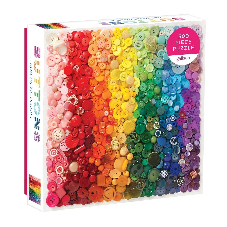 500 - Rainbow Buttons