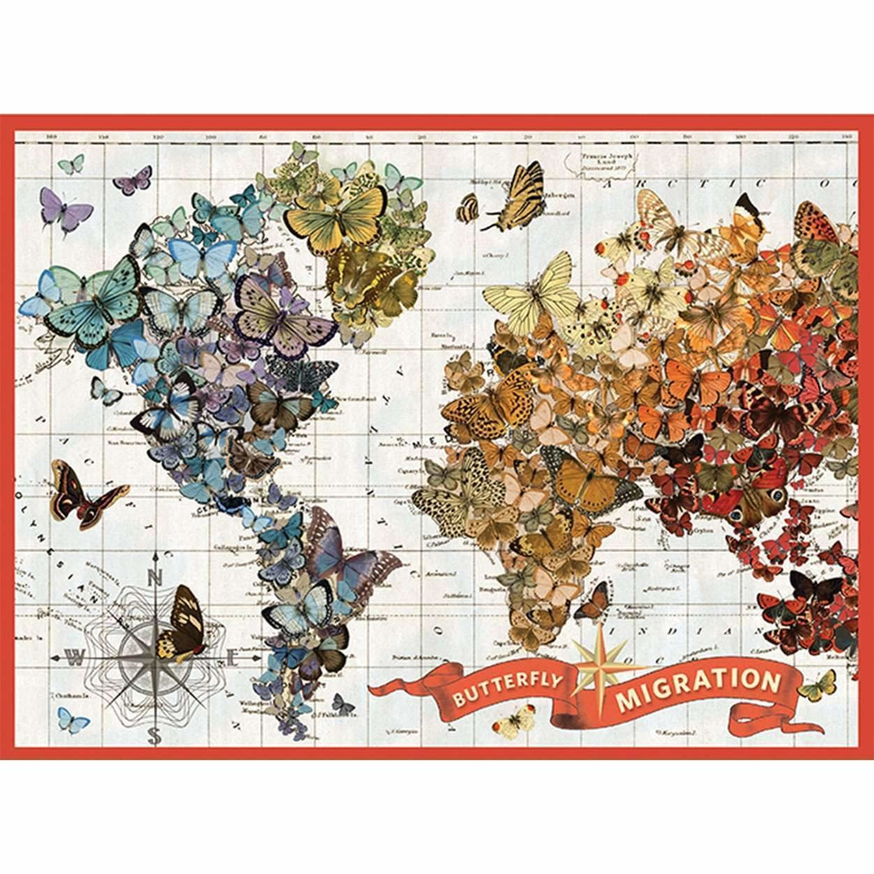 1000 - Butterfly Migration