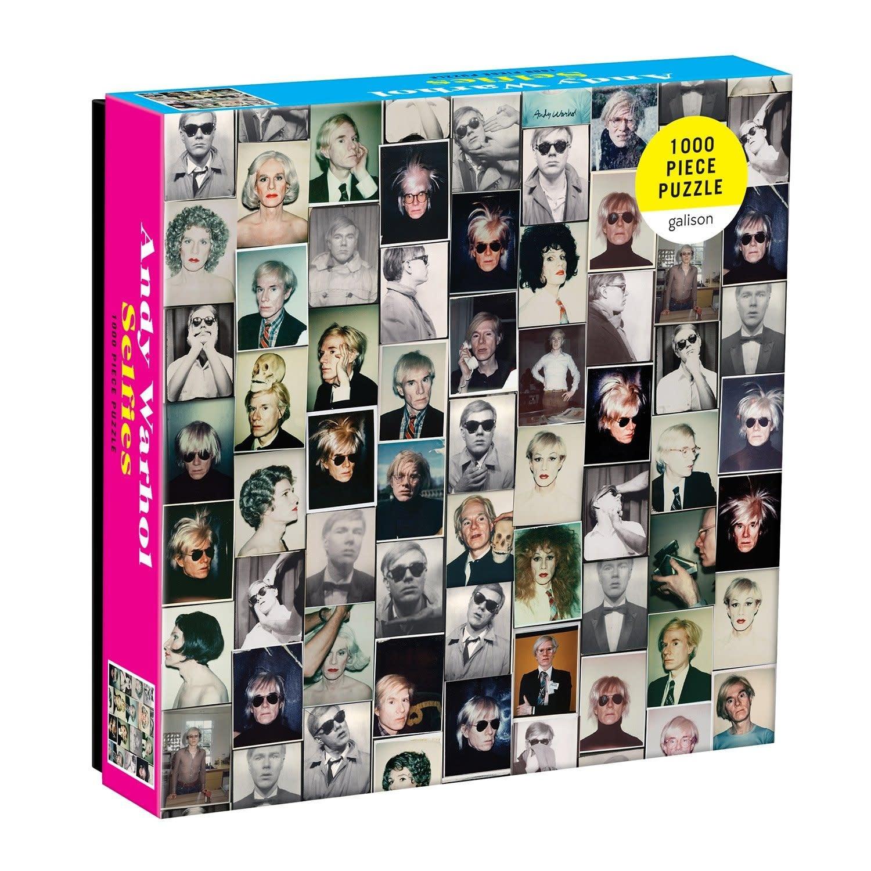 1000 - Andy Warhol Selfies