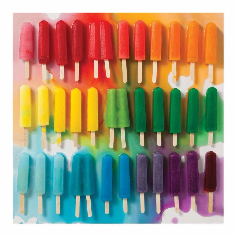 500 - Rainbow Popsicles