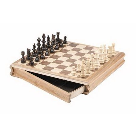 """Chess - Wooden 14"""" Sector Drawer (CH2142)"""