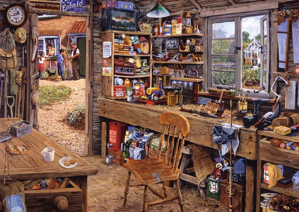 500 - Dad's Shed