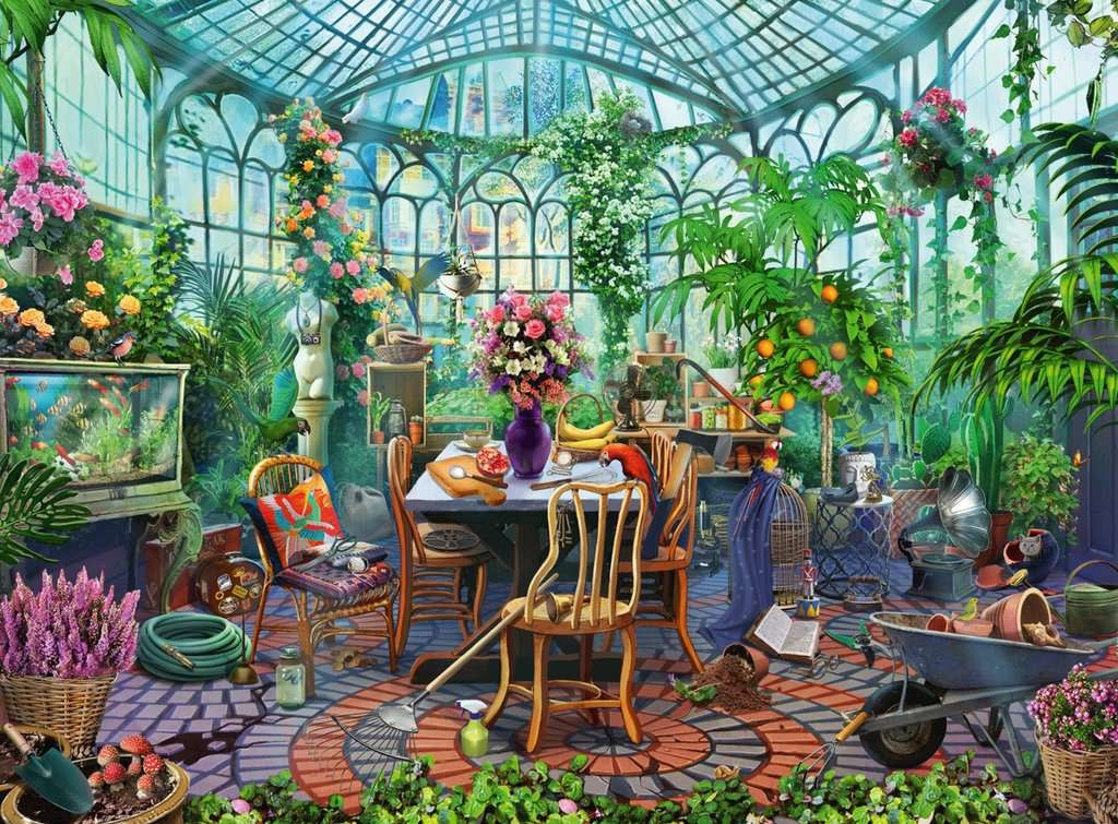 500 - Greenhouse Mornings