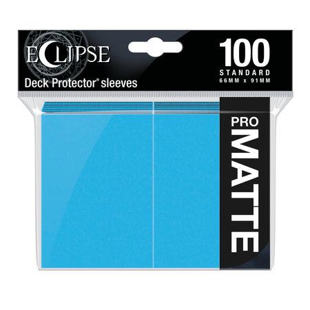 Ultra Pro - 66mm X 91mm - Eclipse Matte Sleeves - Sky Blue 100 ct.