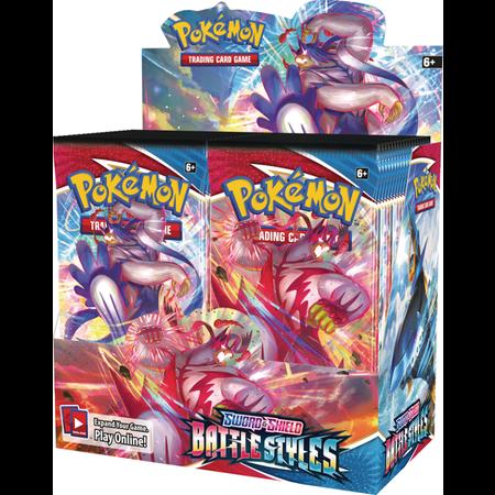 Pokemon Booster Box - Battle Styles