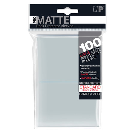 Ultra Pro - 66mm X 91mm Standard Pro-Matte - Clear 100 ct.
