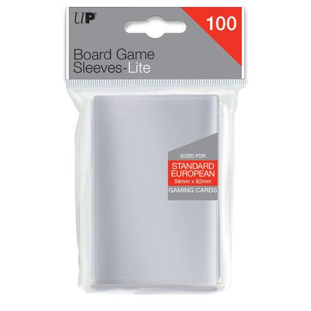 Ultra Pro - 59mm X 92mm Lite Standard European Board Game Sleeves 100 ct.