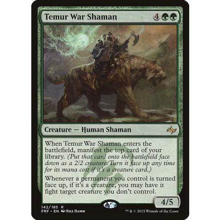 Temur War Shaman - Foil
