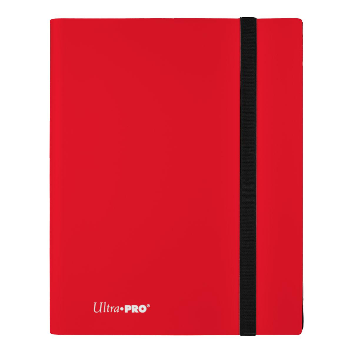 9-Pocket Apple Red PRO-Binder