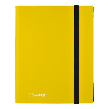 9-Pocket Lemon Yellow PRO-Binder