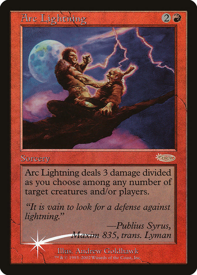 Arc Lightning - Foil