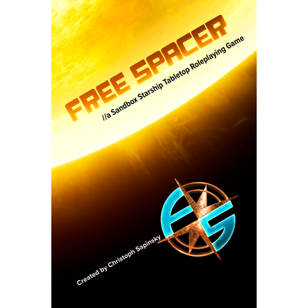 Free Spacer RPG - Softcover
