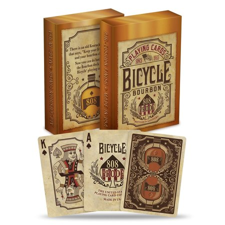 Bicycle Playing Cards - Bourbon Deck