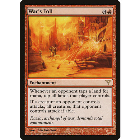 War's Toll