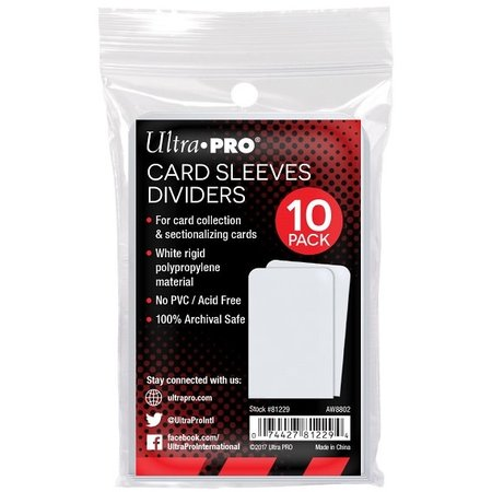 Ultra Pro - Sleeves Dividers 10 ct.